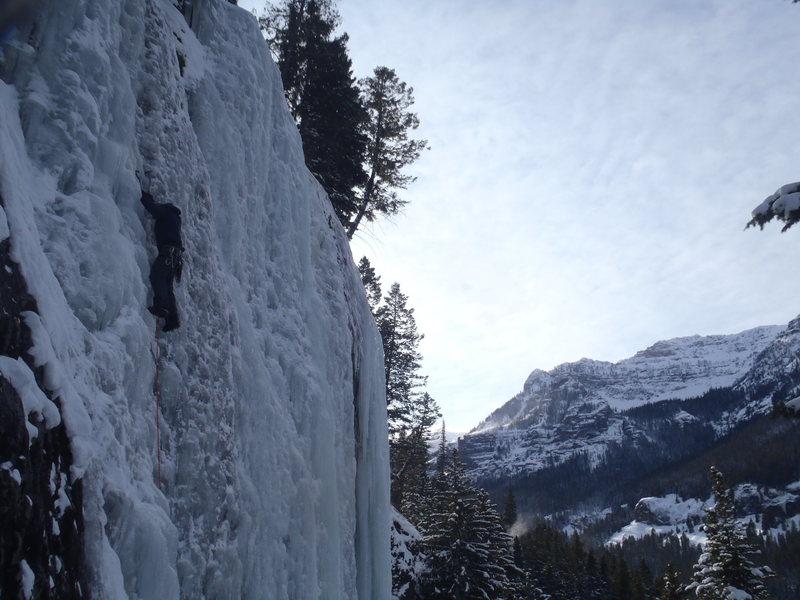 Morning climb on G1