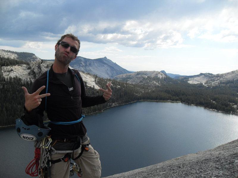 Rock Climbing Photo: Atop Daff Dome, Tuolumne, Yosemite, CA, USA