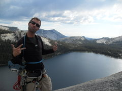 Rock Climbing Photo: Atop Daff Dome, Tuolumne, Yosemite, CA, USA