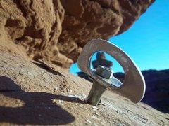 Rock Climbing Photo: Where did the rock go?