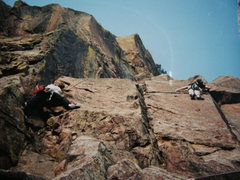 Rock Climbing Photo: Eldo - West Ridge - SSP on The Unsaid & Scammin' S...
