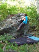 Rock Climbing Photo: Aaron James Parlier on Yates Arete