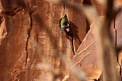Rock Climbing Photo: Keep arcing it.