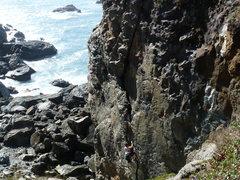 Rock Climbing Photo: Wedding rock on a beautiful sunny day (rare in Hum...