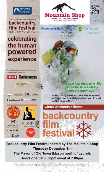 2011 Backcountry Film Fest.