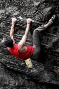 Rock Climbing Photo: Aaron James Parlier sending Nexus, V7, Overlook Ar...