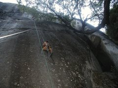 Rock Climbing Photo: PING! Brandan on MBTB.