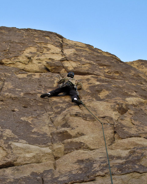 Rock Climbing Photo: Jonny on Smithereens.