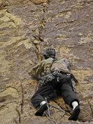 Rock Climbing Photo: Jonny on Young Lust.