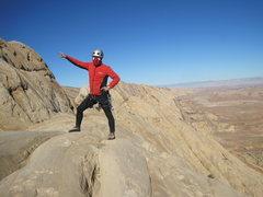 Rock Climbing Photo: Onward to the Summit Ridge!