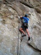 Rock Climbing Photo: Eric Hobday grasping the concept of To Have and to...