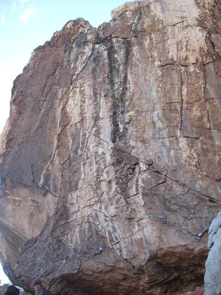 Rock Climbing Photo: boulder off the beaten path