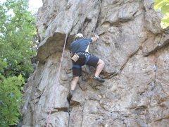 Rock Climbing Photo: overhang direct