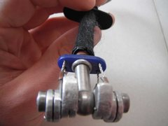 Rock Climbing Photo: Plastic trigger and wire bar.