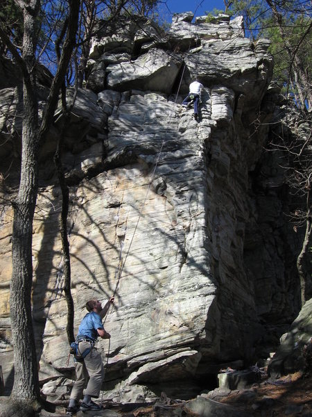 Rock Climbing Photo: Finish to Gentle Ben