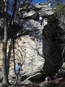 Rock Climbing Photo: Finish to Gentle Ben