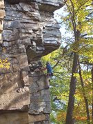 Rock Climbing Photo: Dihedral Route