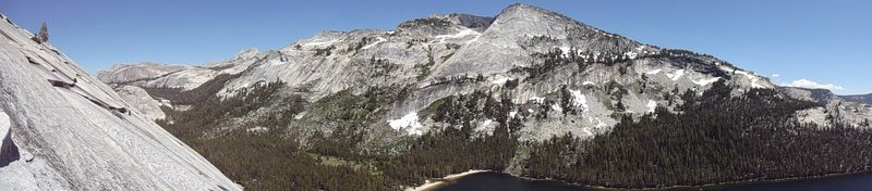 Rock Climbing Photo: Tenaya Peak from South Crack