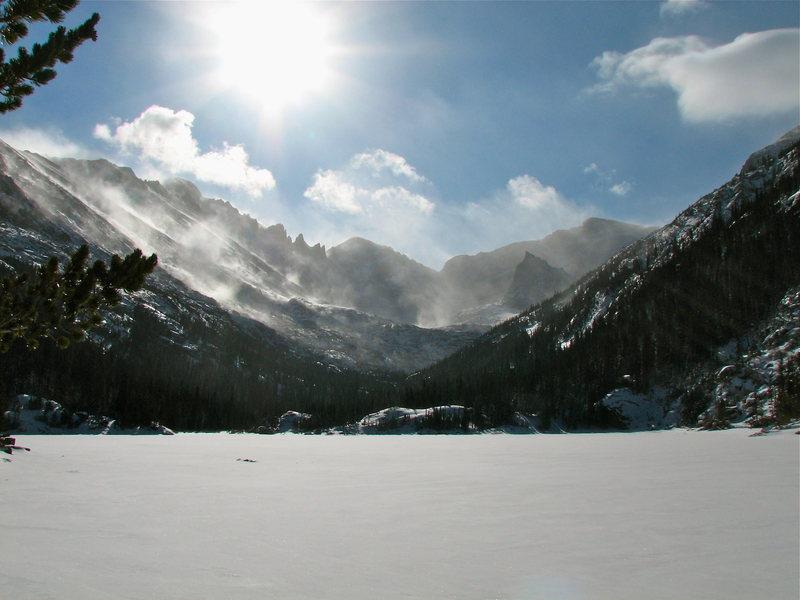 Rock Climbing Photo: Photo taken at Mill's Lake 12/2/2011.