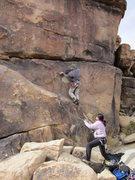Rock Climbing Photo: The starting of Paw