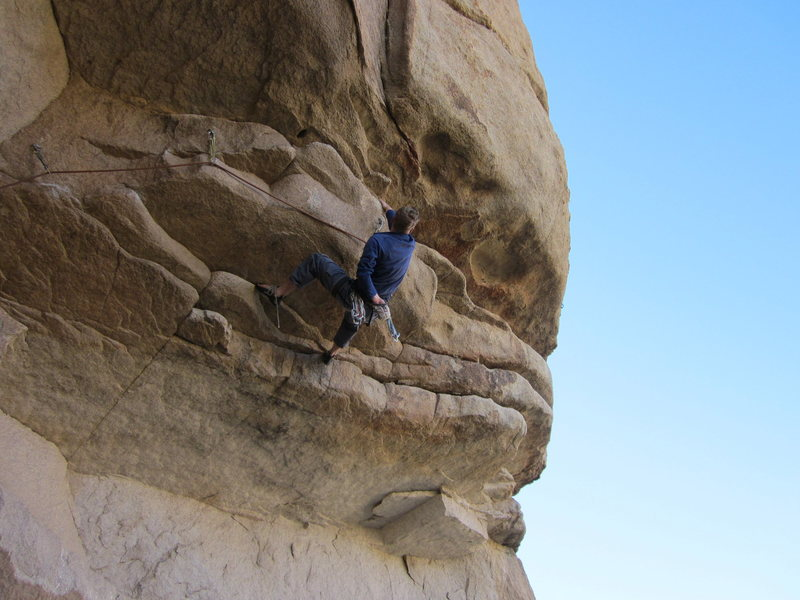 Rock Climbing Photo: Perfect timing to have a shoelace undone?!