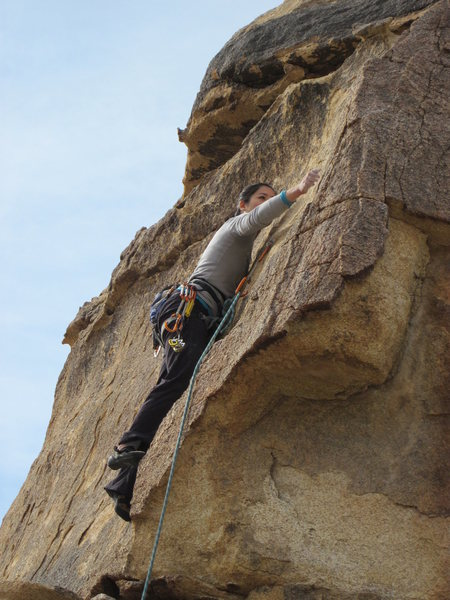 Rock Climbing Photo: Looks big, climbs delicate