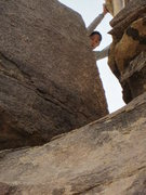 "Rock Climbing Photo: The ""Maw"" from below"