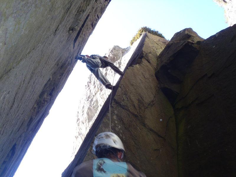 Rock Climbing Photo: stem start