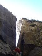 Rock Climbing Photo: johnny at the traverse