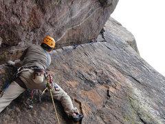 Rock Climbing Photo: Ryan on the traverse. Summer 2010.
