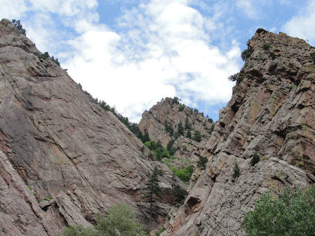 Rock Climbing Photo: Beautiful day in Eldo. Summer 2010.