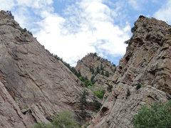 Rock Climbing Photo: Beautiful day in Eldo. Summer 2010.