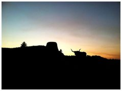 Rock Climbing Photo: Sundown at the tower. Summer 2011.