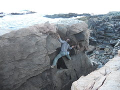 Rock Climbing Photo: Random location that I found, very cool features  ...