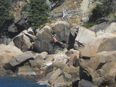 Rock Climbing Photo: This photo and the ones i post are in an area i ha...