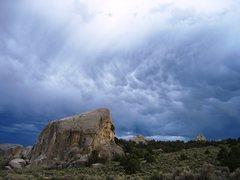 Rock Climbing Photo: Elephant Rock from the main park road