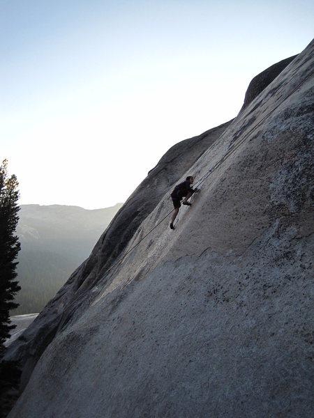 Rock Climbing Photo: far right south flank daff dome