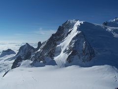Rock Climbing Photo: A view from the Aguille du Midi