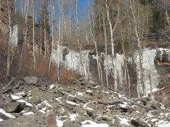 Rock Climbing Photo: think cold