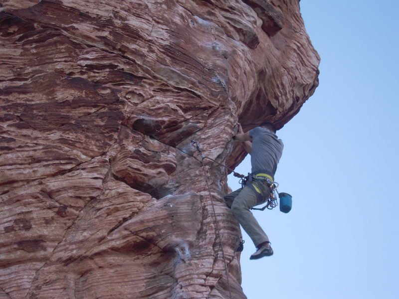 "Rock Climbing Photo: Red Rock, ""Caustic 11b"""