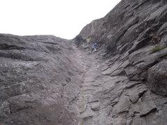 "Rock Climbing Photo: Flagstone ""Hydrotube 5.9"""