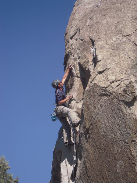 "Rock Climbing Photo: City of Rocks, ""Fall Line 10c"""