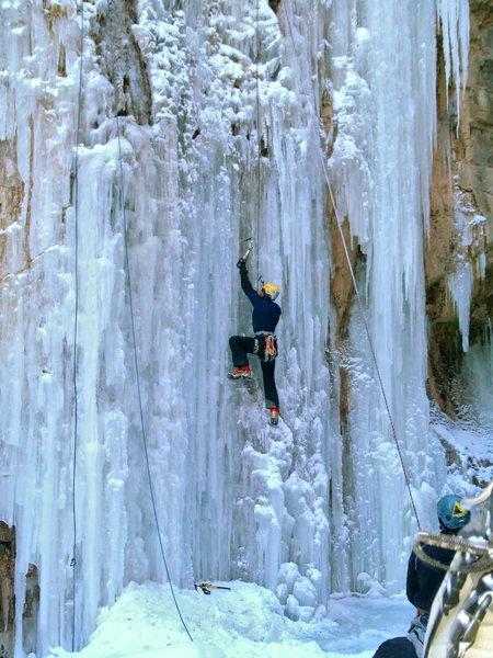 Rock Climbing Photo: Cascade ice.