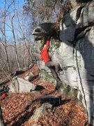 Rock Climbing Photo: Nice warm-up.