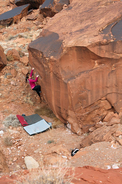 Rock Climbing Photo: Another FA (2005, 06), this one 4-star all the way...