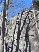 Rock Climbing Photo: A look at the SW facing side.