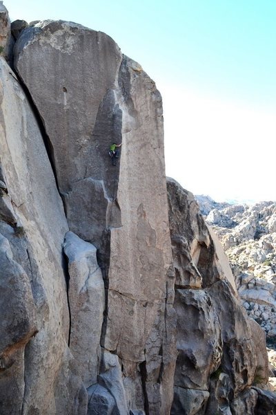 Rock Climbing Photo: Witch Hunt 5.10