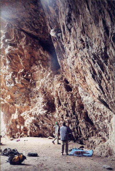 Rock Climbing Photo: Forgotten Years. Winter 2000.