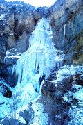 Rock Climbing Photo: Stewart falls WI5 provo canyon