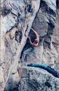 Rock Climbing Photo: Dihedral Rock. Sick Climb!